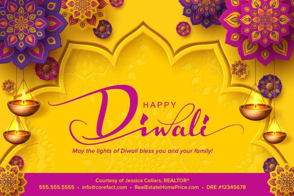 Corefact Seasonal - Happy Diwali Gold