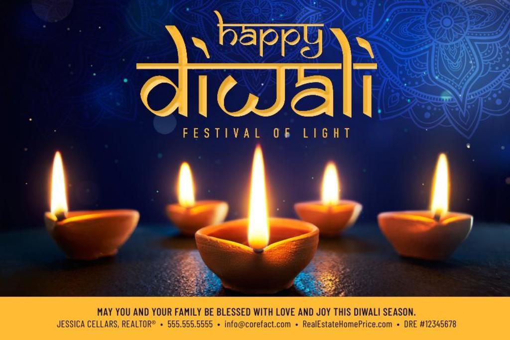 Corefact Seasonal - Happy Diwali Lights