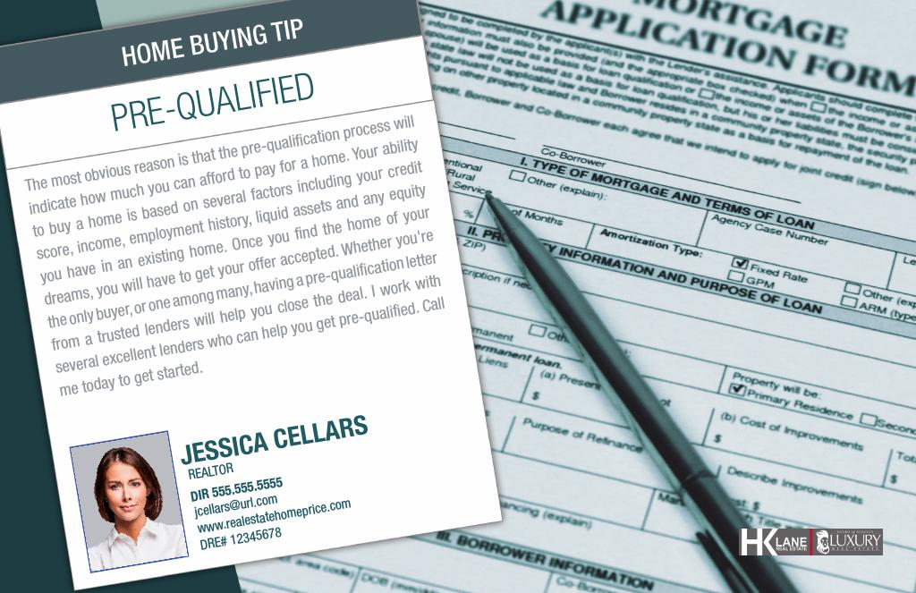 Corefact Series - Buyer Tips - Pre-Qualify