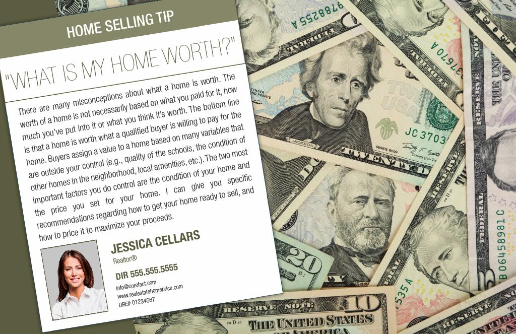 Corefact Series - Seller Tips - Home Value