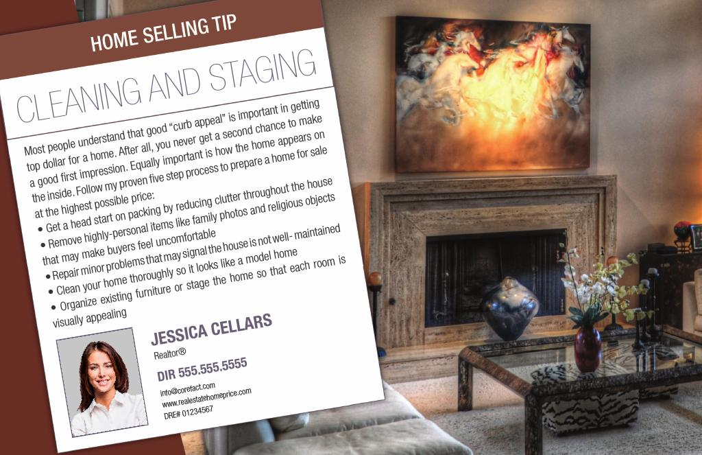 Corefact Series - Seller Tips - Staging