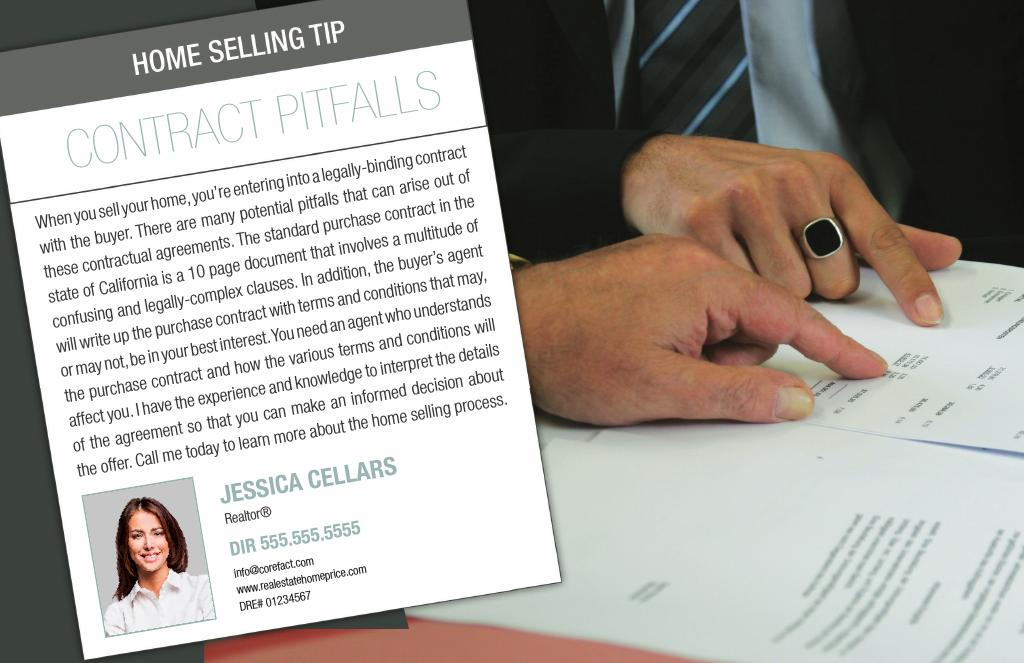 Corefact Series - Seller Tips - Contract Pitfalls
