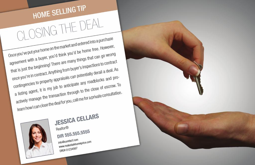 Corefact Series - Seller Tips - Closing