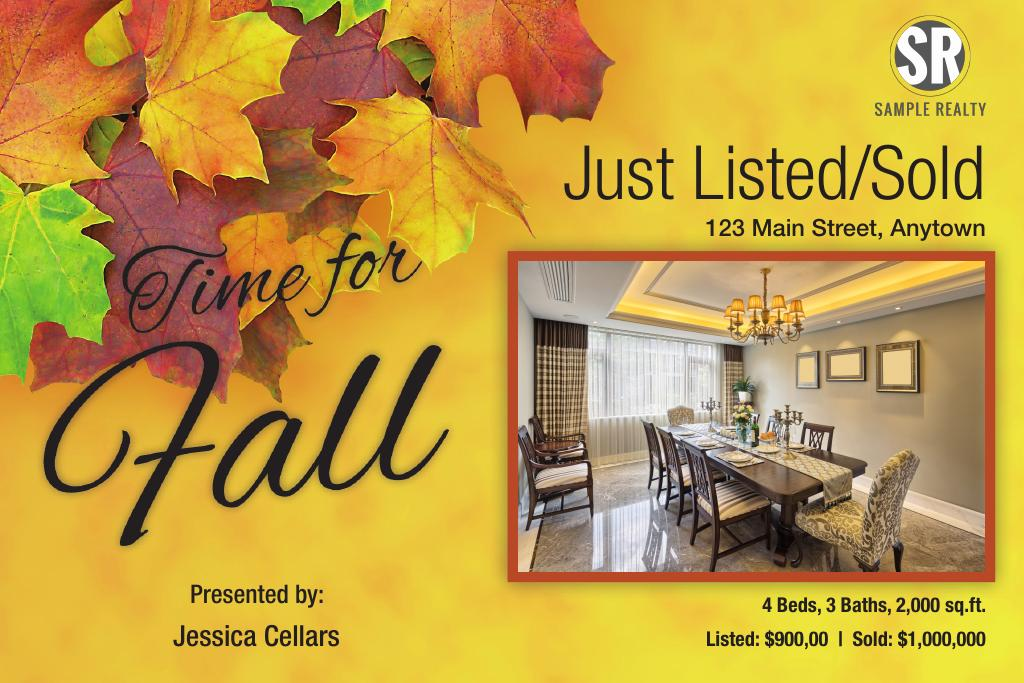 Corefact Seasonal - Just List/Sold Fall