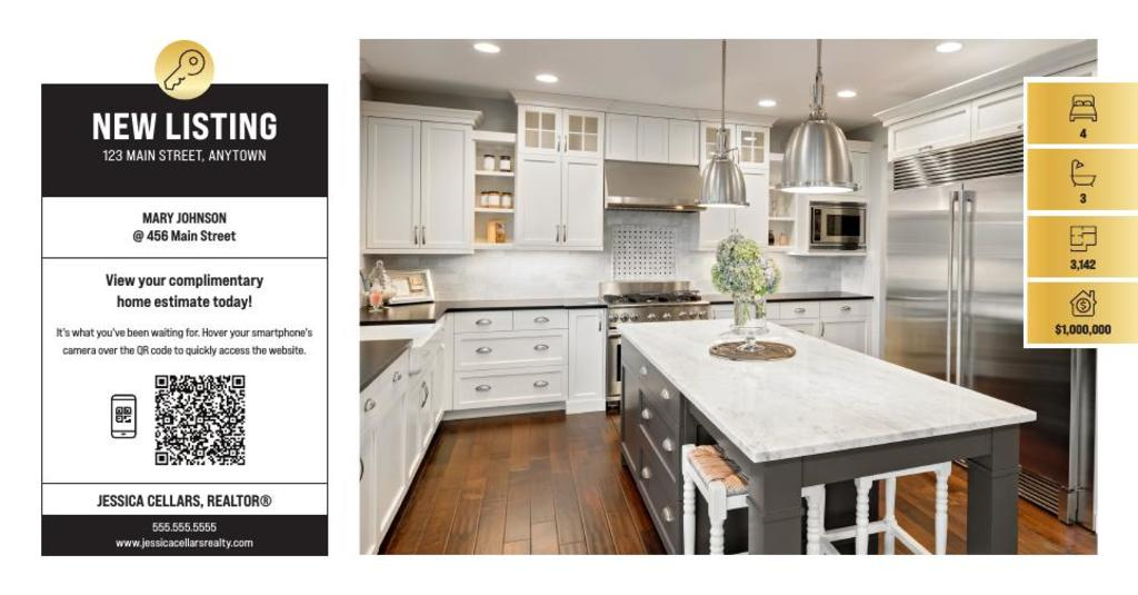 Corefact Just Listed - QR Home Estimate Gold