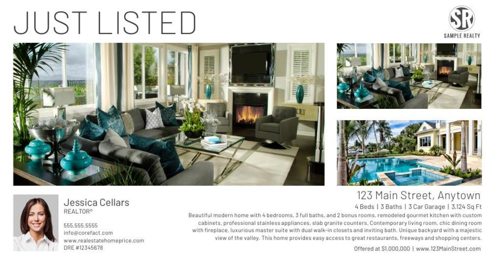 Corefact Just Listed - Modern 3 Photos