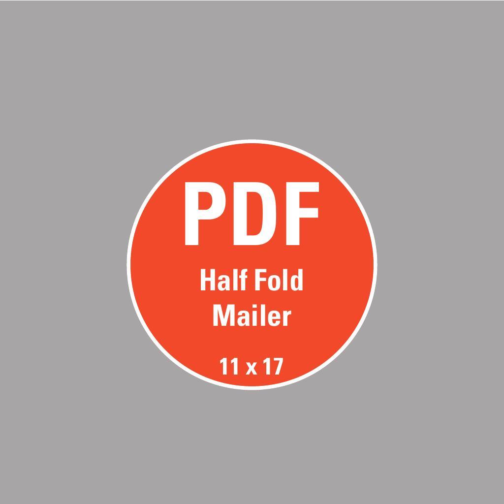 Corefact Upload - 11 x 17 Folded Mailer - 4 Panel