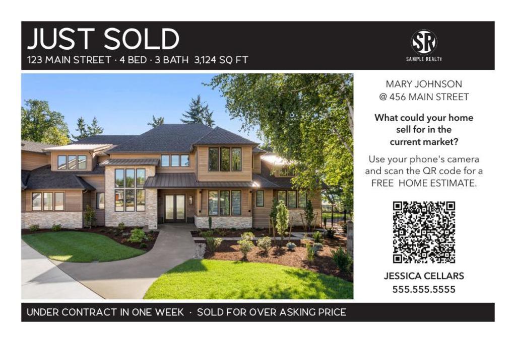 Corefact Just Sold - QR Home Estimate-Grid