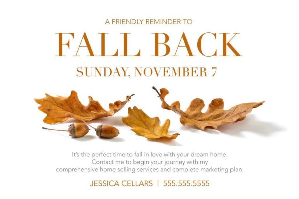 Corefact Seasonal - Fall Back Leaf
