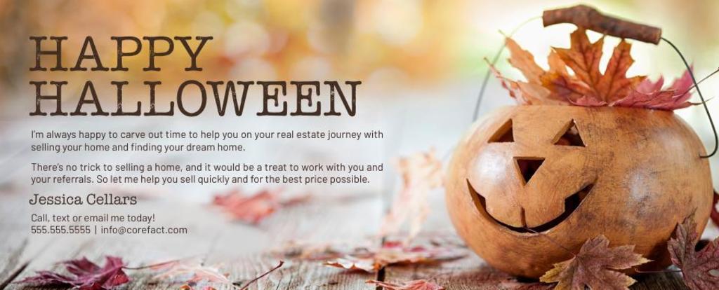 Corefact Seasonal - Halloween Referral