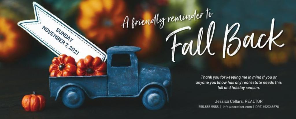 Corefact Seasonal - Fall Back Truck