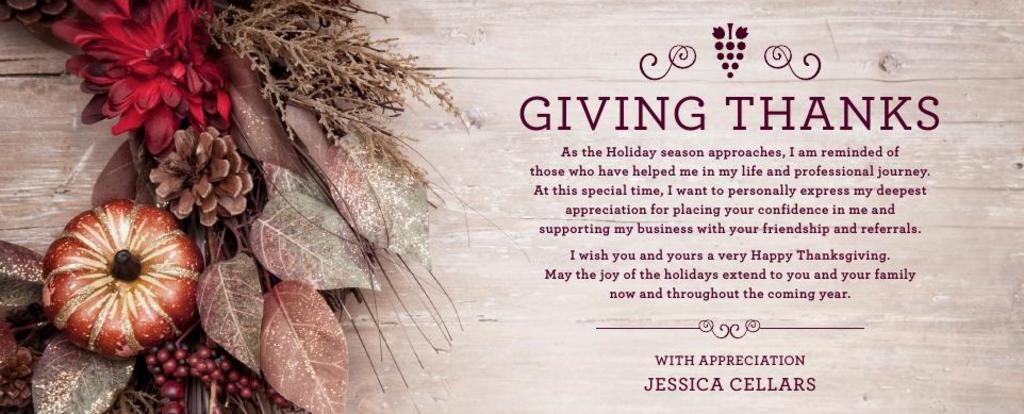 Corefact Seasonal - Giving Thanks