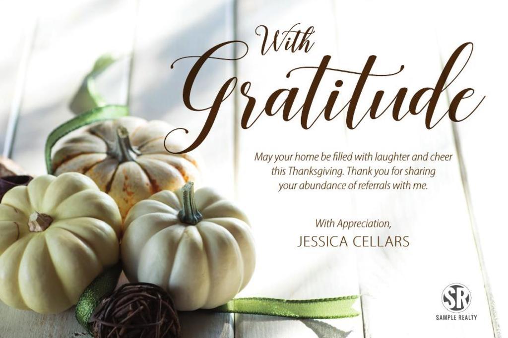 Corefact Seasonal - With Gratitude