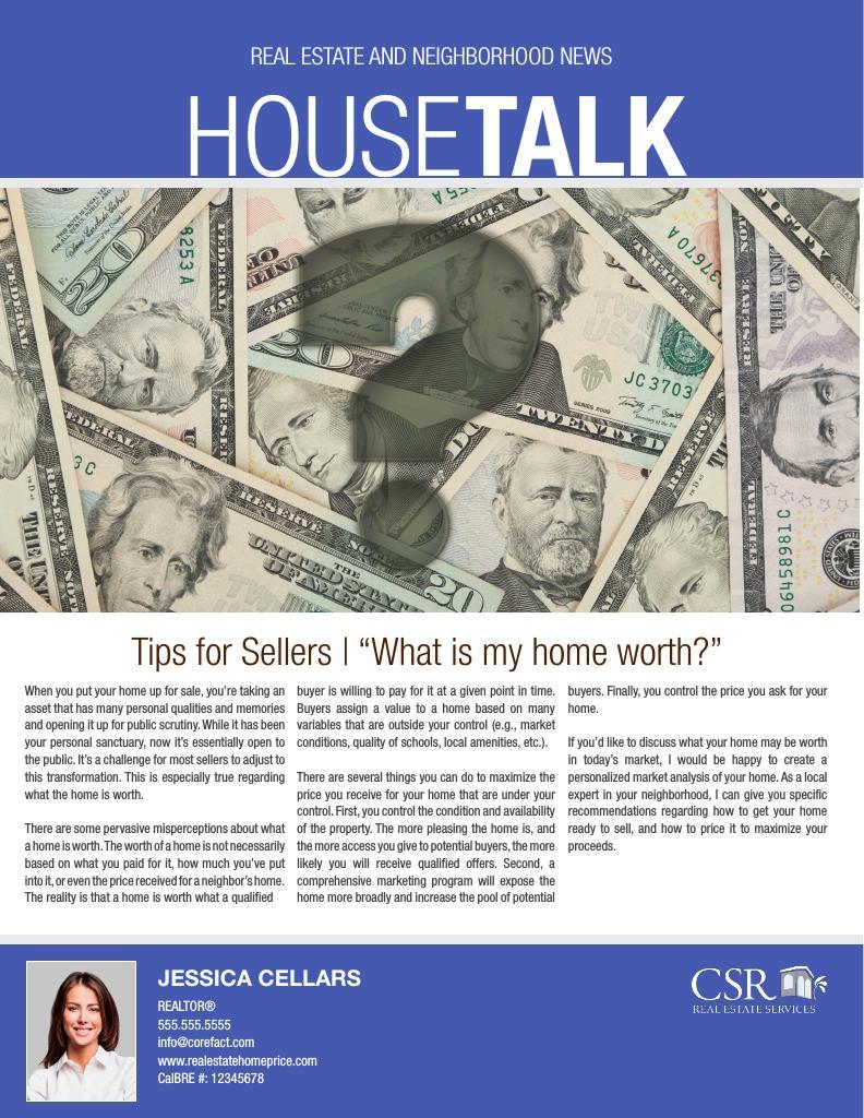 Corefact HouseTalk 04 - Home Value (Manual)