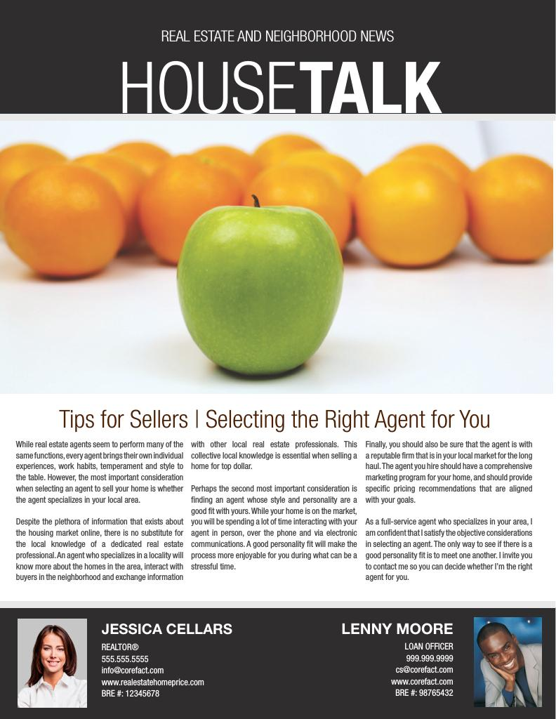Corefact HouseTalk 05 - Select Right Agent TEAM