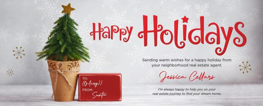 Corefact Seasonal - Happy Holidays Tree