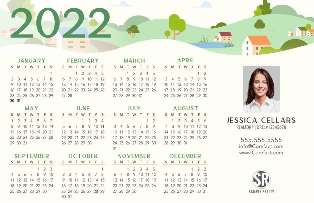 Corefact Calendar 2022 - 03