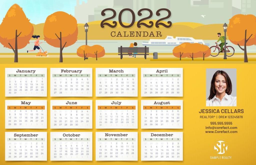 Corefact Calendar 2022 - 04