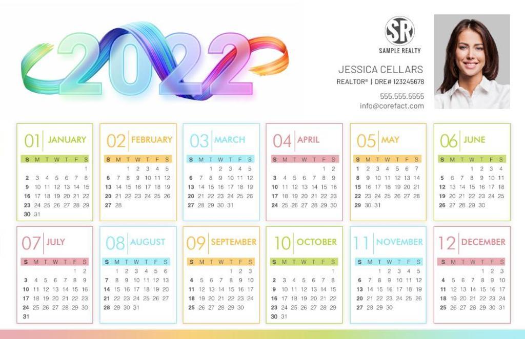 Corefact Calendar 2022 - 07