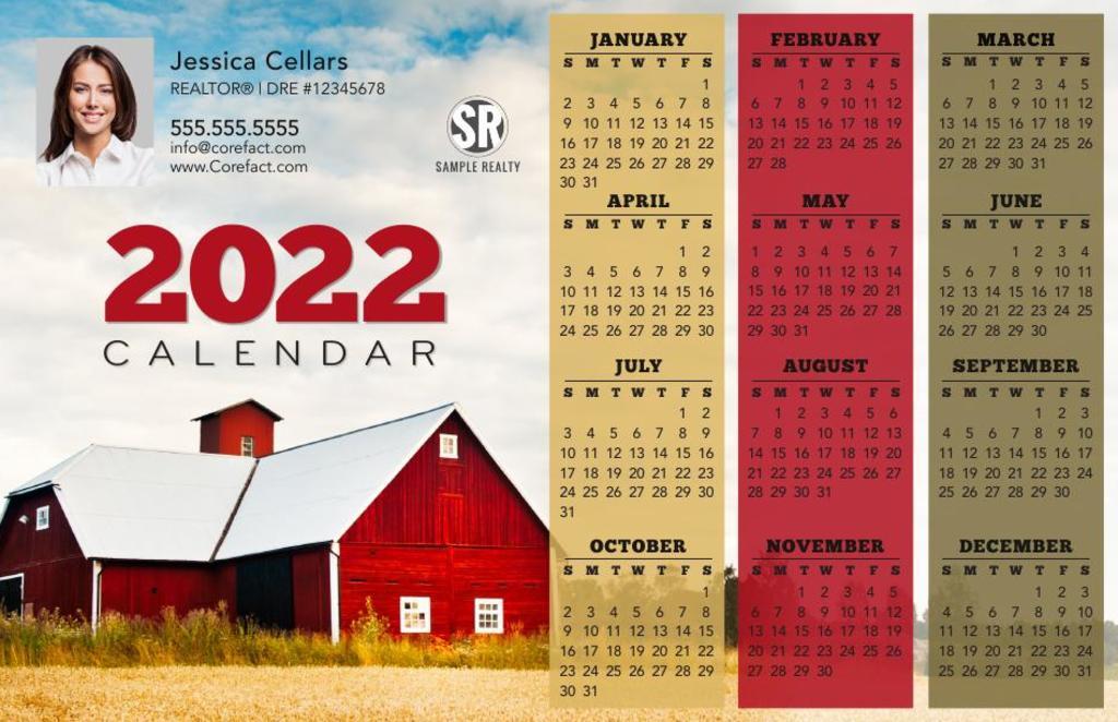 Corefact Magnets - Calendar 2022 - 10 (Mailer)