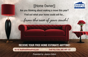 Corefact Home Estimate - Red Couch