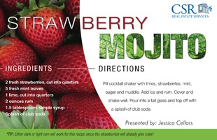 Corefact Recipe - Strawberry Mojito