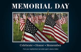 Corefact Seasonal - Memorial Day Flags