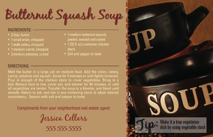 Corefact Recipe - Butternut Squash Soup
