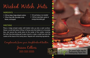 Corefact Recipe - Wicked Witch Hats