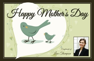 Corefact Mother's Day Card - Birdies