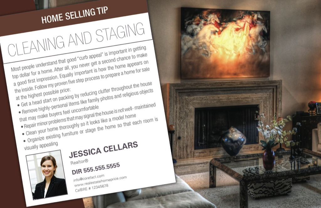 Corefact Seller Tips - Cleaning & Staging