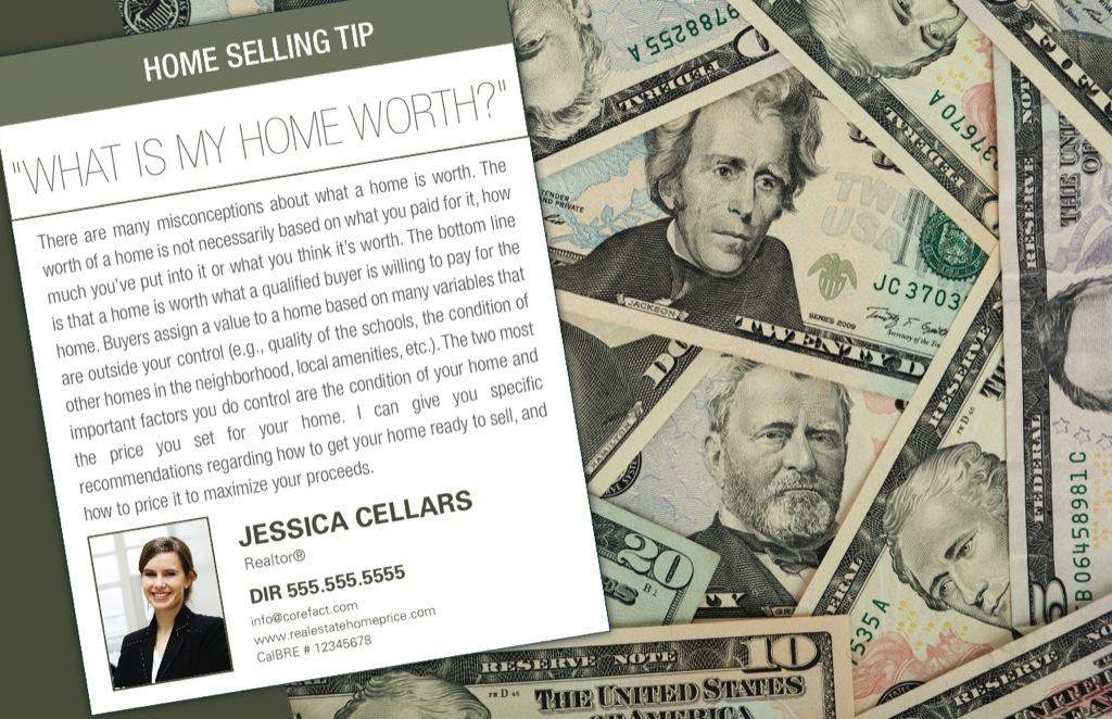 Corefact Seller Tips - Home Value