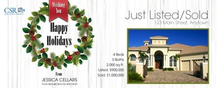 Corefact Seasonal - Just Listed/Sold Wreath