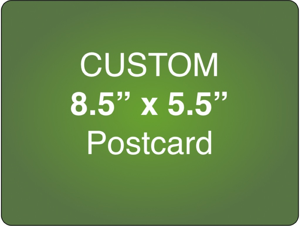 Corefact Custom 8.5 x 5.5 Postcard