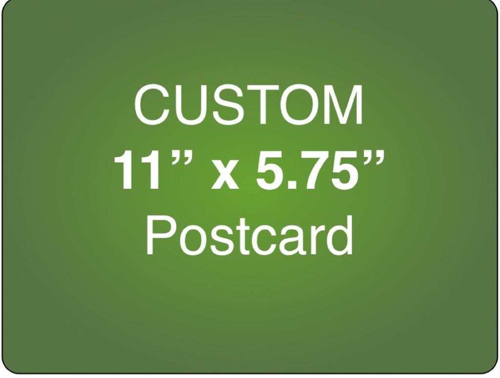 Corefact Custom 11 x 5.75 Postcard
