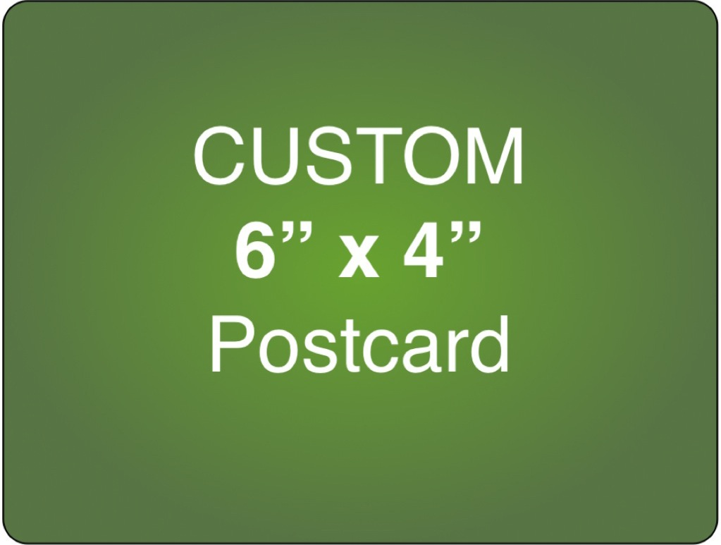 Corefact Custom 6 x 4 Postcard