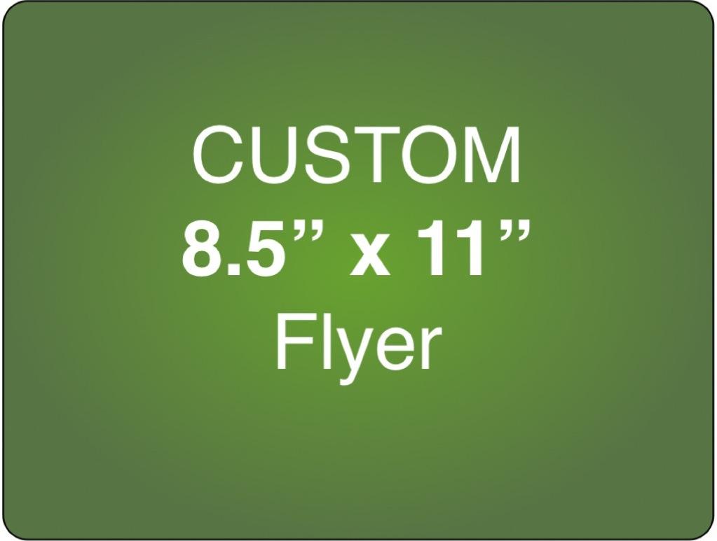 Corefact Custom 8.5 x 11 Single Sided Flyer (Portrait)