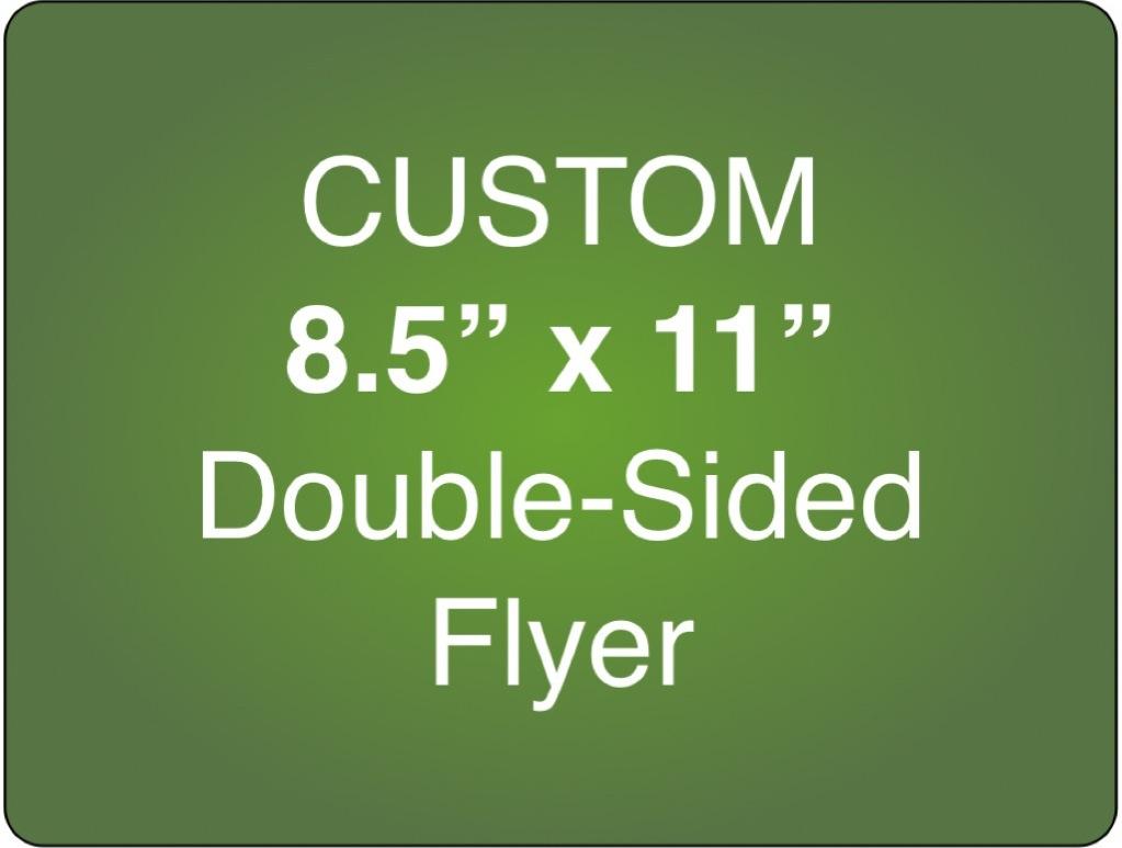 Corefact Custom 8.5 x 11 Double Sided Flyer (Portrait)