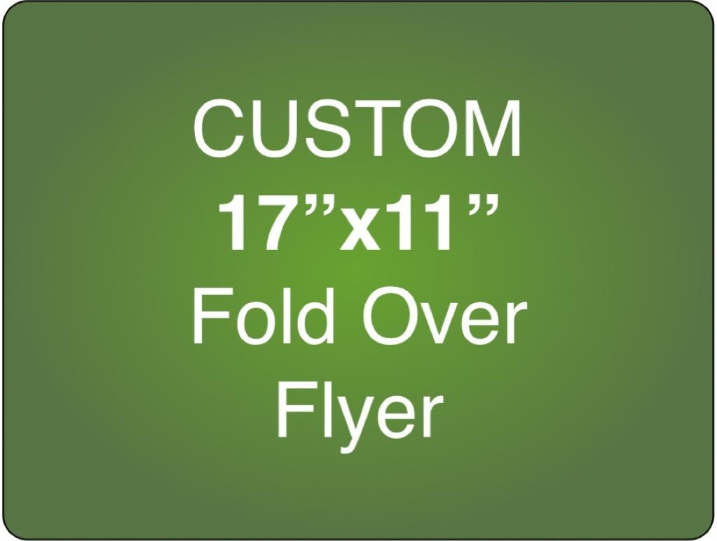 Corefact Custom 17x11 - Fold Over