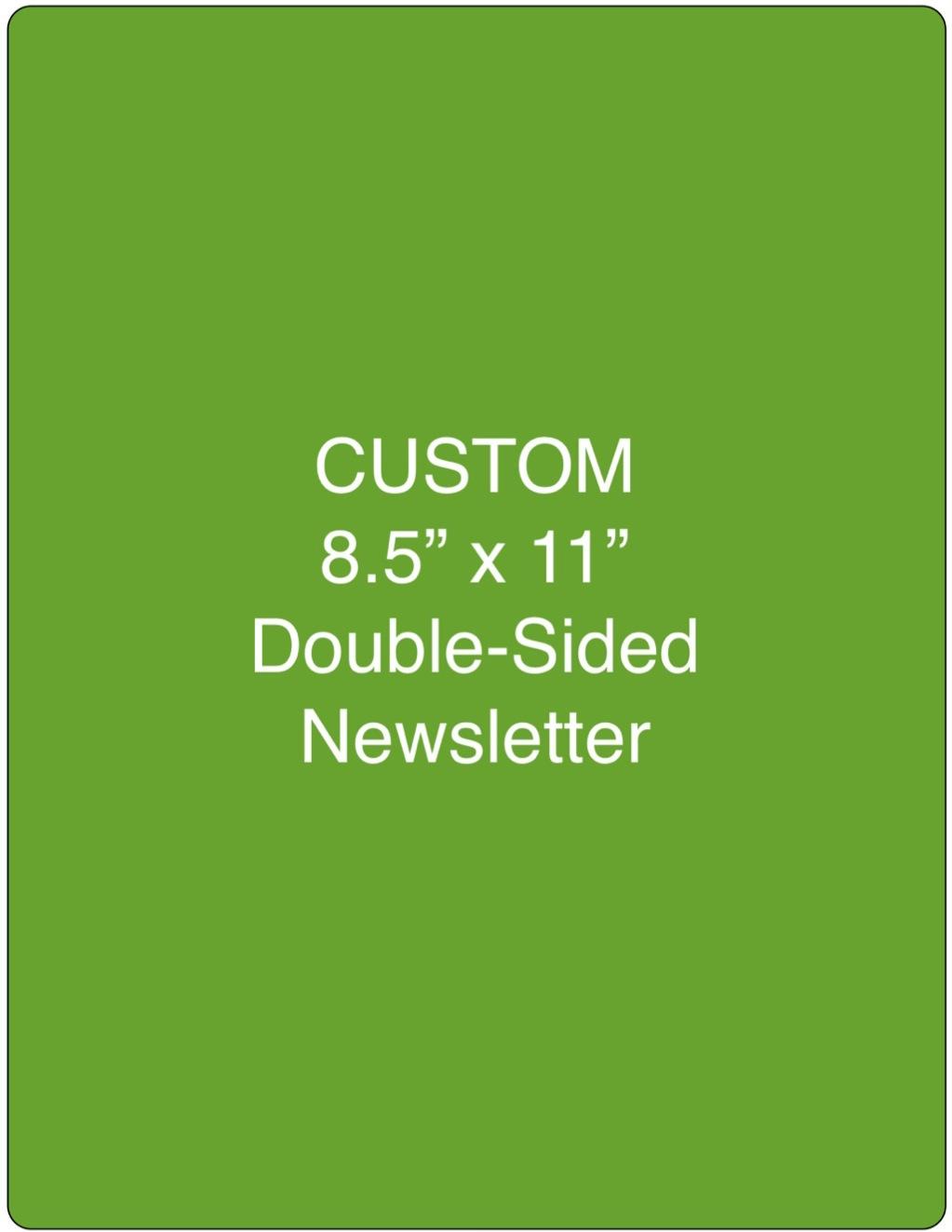 Corefact Custom Newsletter 8.5x11 (Portrait)
