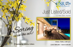 Corefact Seasonal - Just Listed/Sold Spring