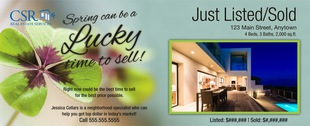 Corefact Seasonal - Just Listed/Sold Clover