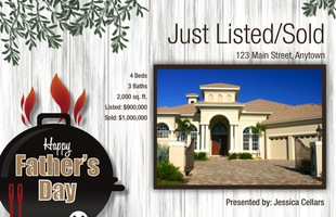 Corefact Seasonal - Just Listed/Sold Father's Day