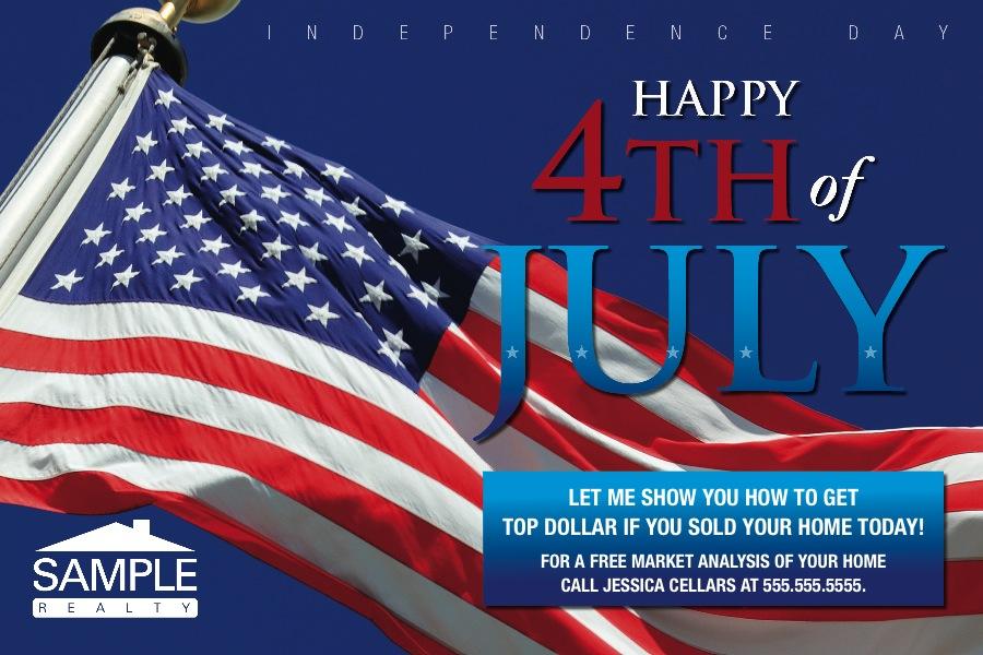 Corefact Seasonal - 4th of July Flag