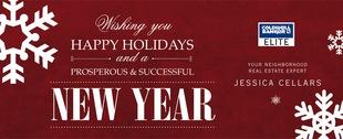 Corefact Seasonal - Happy Holidays New Year