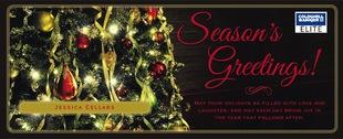 Corefact Seasonal - Season's Greetings Tree