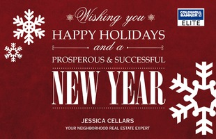 Corefact Seasonal - Happy Holidays/New Year