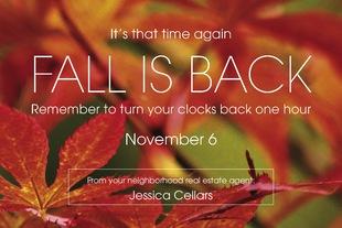 Corefact Seasonal - Fall Back