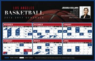 Corefact Sports - Basketball LA Blue/Red