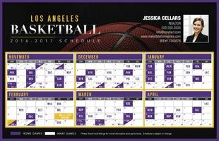 Corefact Sports - Basketball LA Yellow/Purple